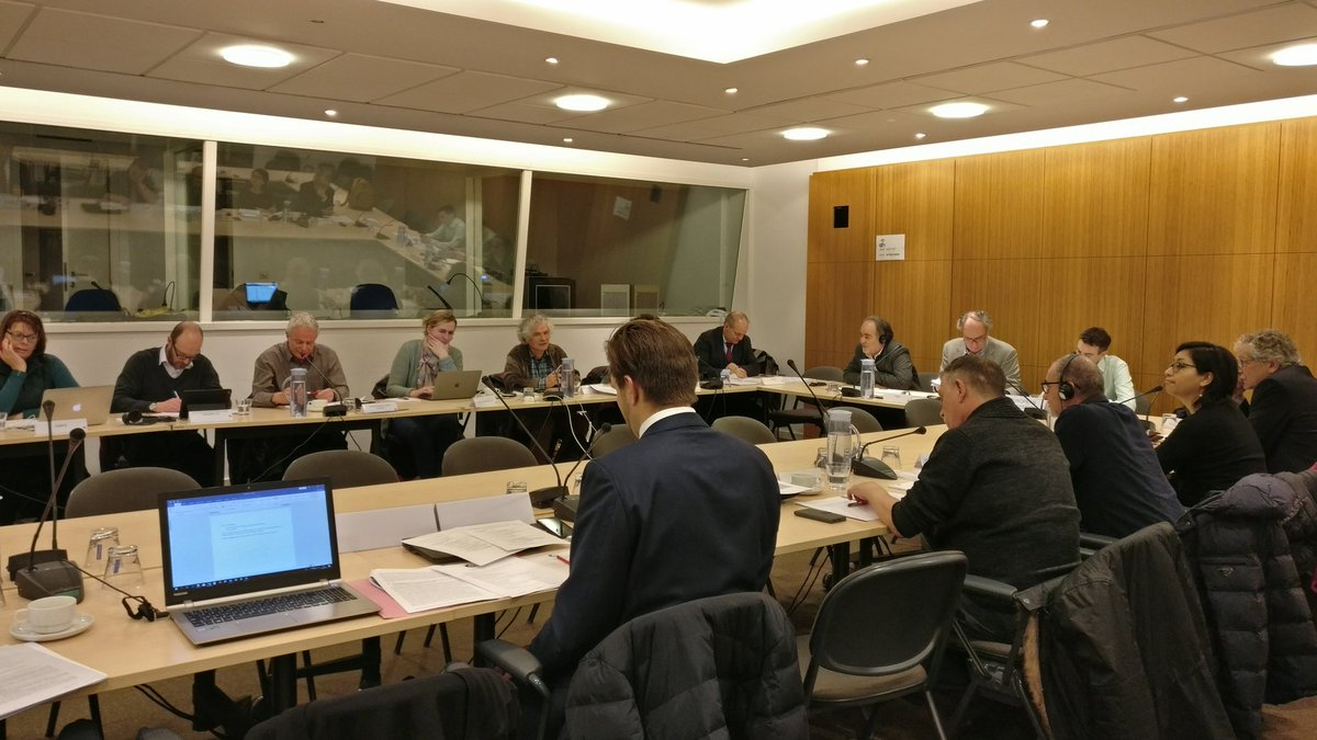 Meeting ExCom Business Europe March 2018